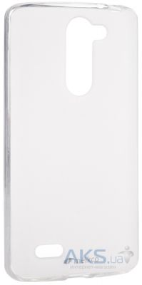 Чехол Melkco Poly Jacket TPU for LG L80+ Bello/D335 Transparent