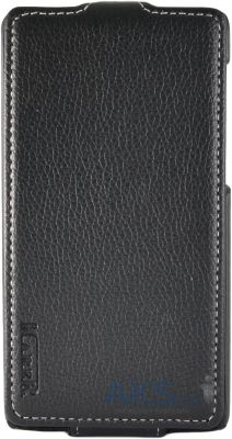 Чехол Carer Base Leather Flip Case for Huawei Ascend G620 Black