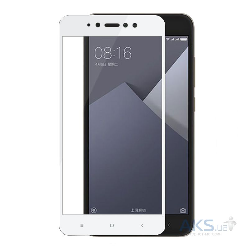 Защитное стекло BeCover Full Cover Xiaomi Redmi Note 5A White (701660)