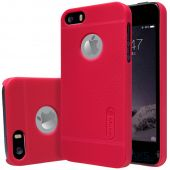 Чехол Nillkin Super Frosted Shield Apple iPhone 5, iPhone 5S, iPhone SE Red