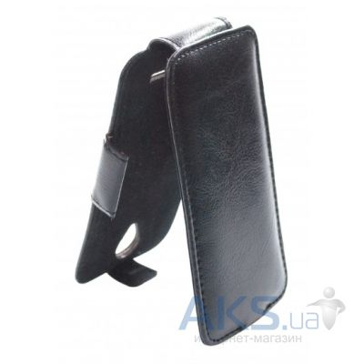 Чехол Sirius flip case for Lenovo A505E Black Matte