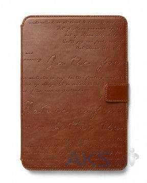Чехол для планшета Zenus iPad mini Retina Leather Case 'Masstige' Lettering Diary Series Brown
