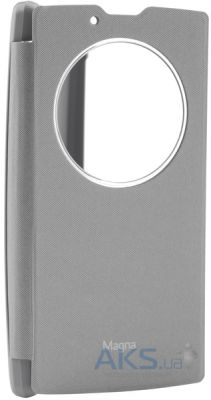 Чехол VOIA Flip Case for LG Optimus Y90 Magna H502 Silver