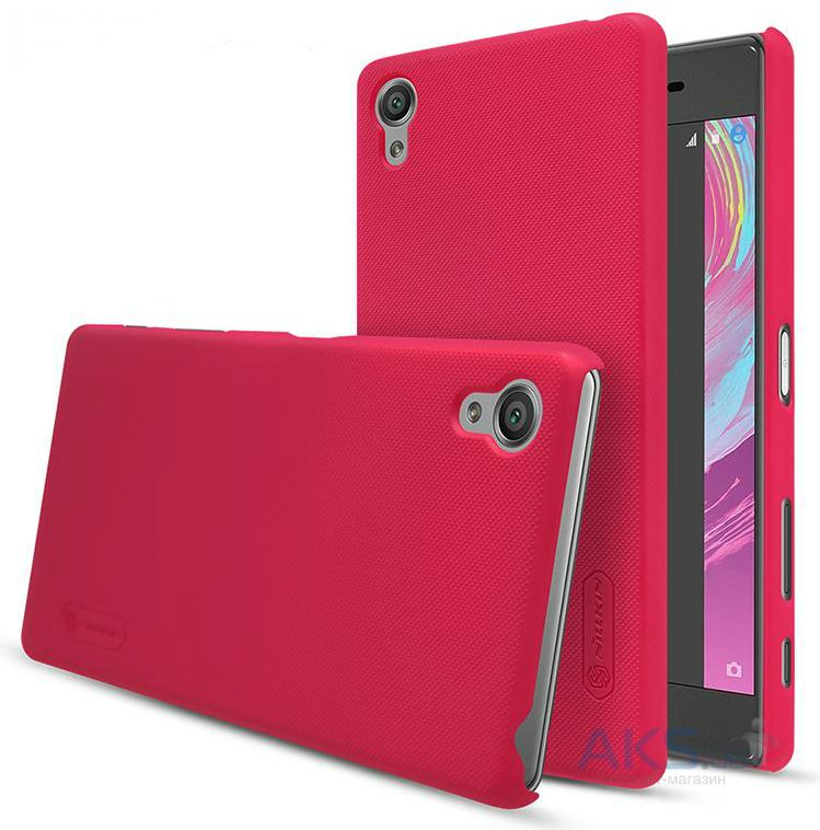 Чехол Nillkin Super Frosted Shield Sony Xperia X, Xperia X Dual Red