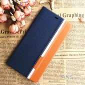 Вид 3 - Чехол Original Book Stripe Series Doogee Y300, Y300 Pro Black - Brown