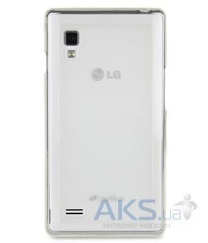 Чехол Melkco Poly Jacket TPU cover for LG E940 Optimus G Pro Transparent