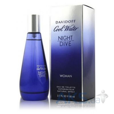 Davidoff Cool Water Night Dive Woman Туалетная вода 30 мл