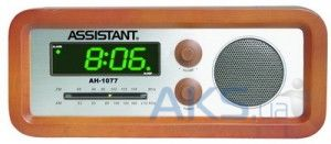 Часы Assistant AH-1077 cherry/green