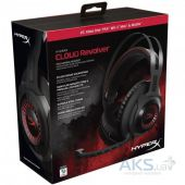 Вид 7 - Наушники (гарнитура) Kingston HyperX Cloud Revolver Gaming Headset Black/Red