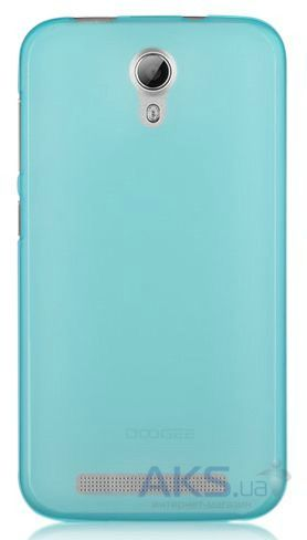 Чехол Original TPU Ultra Thin Doogee Valencia 2 Y100, Y100 Pro Transparent Blue