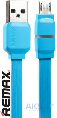 Кабель USB REMAX Breathe microUSB Cable Blue