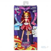 Вид 2 - Игрушка Hasbro My Little Pony Equestria Girls School Spirit (B1769) Sunset Shimmer