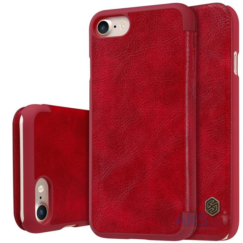 Чехол Nillkin Qin Leather Series Apple iPhone 7 Red
