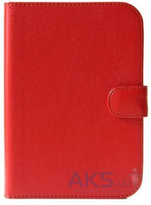 Обложка (чехол) Saxon Case для Nook Simple Touch Classic Red