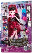Вид 7 - Игрушка Mattel Кукла Дракулаура Welcome to Monster High (DNX32)