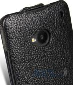 Вид 7 - Чехол Melkco Jacka leather case for HTC One M7 Black (O2O2M7LCJT1BKLC)