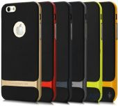 Вид 2 - Чехол Rock Royce Series Apple iPhone 6, iPhone 6S Black / Red