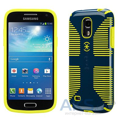 Чехол Speck for Samsung i9190 Galaxy S4 mini CandyShell Grip Deep Sea Blue/Lemongrass Yellow (SPK-A2158)