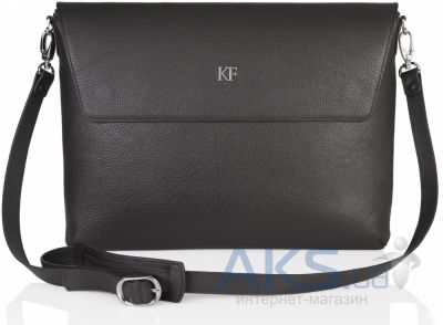 "Чехол Katerina Fox Leather Bag for MacBook 13"" Dark Olive"