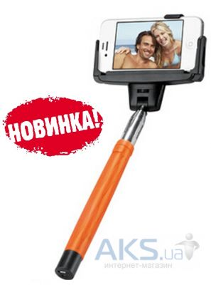 Монопод Selfieman D-09 Wireless Orange
