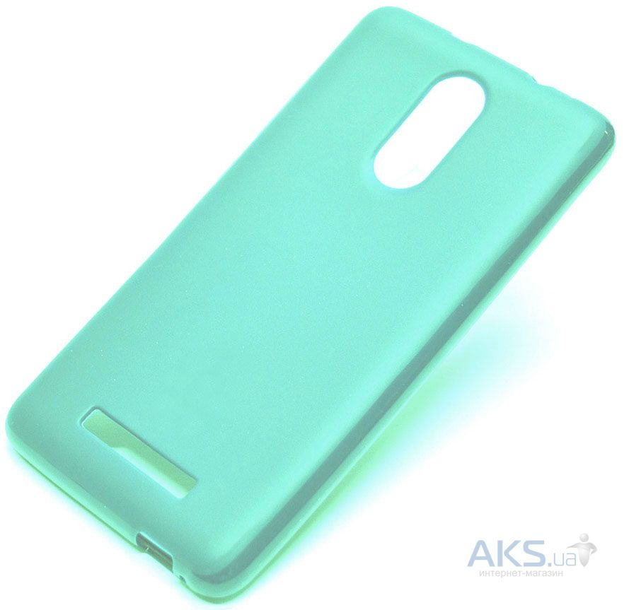 Чехол Smitt Silicone Cover Xiaomi Redmi Note 3, Redmi Note 3 Pro Mint
