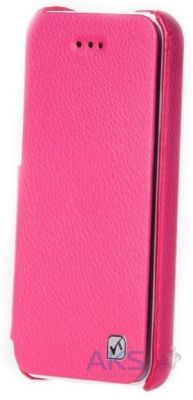Чехол Hoco Duke book leather case for iPhone 5C Rose Red (HI-L042)