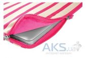 "Вид 2 - Чехол Incase Striped Canvas Sleeve Pink for MacBook Pro 13"" (CL60339)"