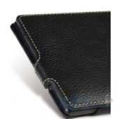 Вид 4 - Чехол Melkco Jacka leather case for Sony Xperia Z Ultra C6802 Black [SEXPZULCJT1BKLC]