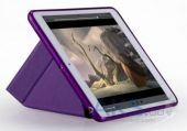 Вид 4 - Чехол для планшета Momax Smart case for iPad Mini Retina purple [GCAPIPADM2U]