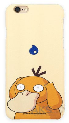 Чехол Original Ultra Thin TPU Pokemon Go Series Apple iPhone 6, iPhone 6S Psyduck