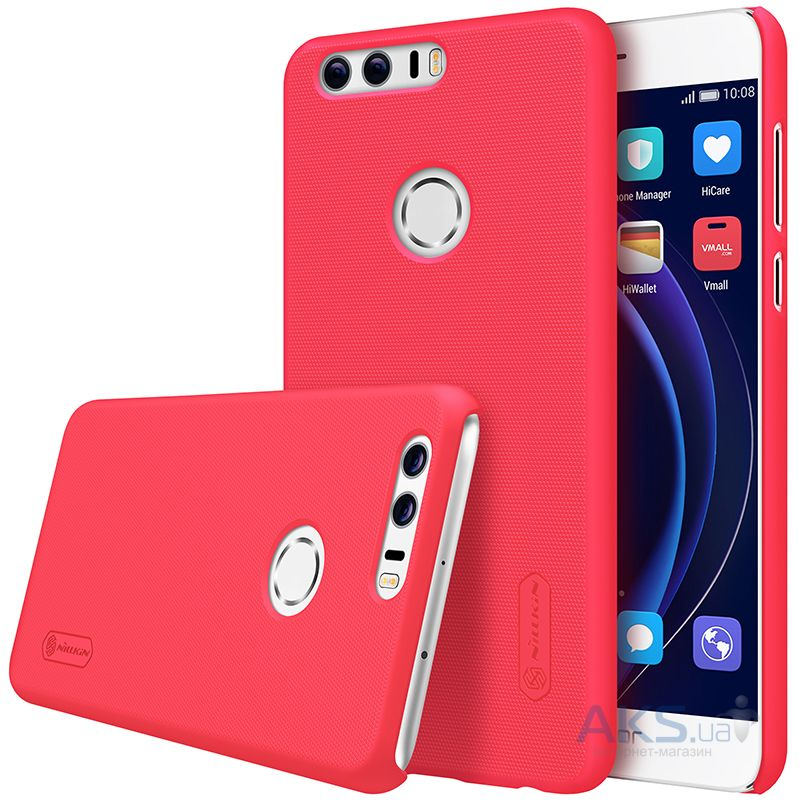 Чехол Nillkin Super Frosted Shield Huawei Honor 8 Red