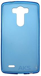 Чехол Remax Ultra Thin Silicon Case LG Optimus G3 D850 Blue