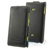 Чехол Perfektum Leather Flip series Nokia 720 Lumia Black