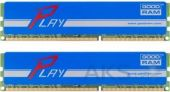 Оперативная память GooDRam DDR3 8GB (2x4GB) 1600 MHz PLAY Blue (GYB1600D364L9S/8GDC)