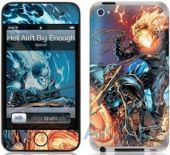 Защитная пленка GelaSkins Hell Aint Big Enough for iPod touch 4G