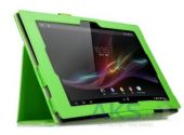 Чехол для планшета TTX leatherette case Sony Xperia Tablet Z Light green