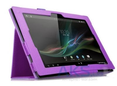 Чехол для планшета TTX leatherette case Sony Xperia Tablet Z Purple