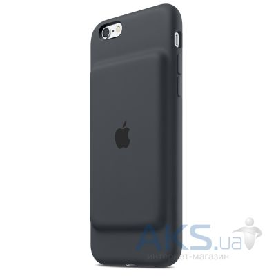 Внешний аккумулятор Apple Smart Battery Case for iPhone 6s Charcoal Gray (MGQL2)