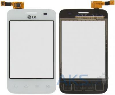 Сенсор (тачскрин) для LG Optimus L3 E435 Original White