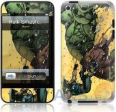 Защитная пленка GelaSkins Hulk Smash for iPod touch 4G