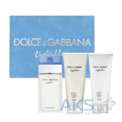 Dolce&Gabbana Light Blue Набор 100 ml + 100 ml + 100 ml