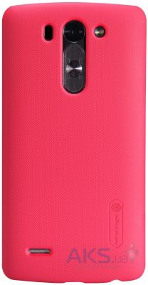 Чехол Nillkin Super Frosted Shield LG Optimys G3s D722, D724 Red