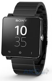 Умные часы Sony SmartWatch 2 SW2 Steel Black
