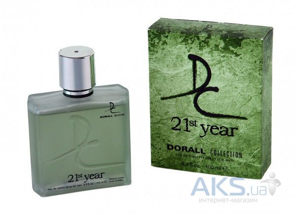 Dorall Collection 21st Year Men Туалетная вода 100 мл