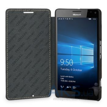 Чехол TETDED Leather Book Series Microsoft Lumia 950 Black