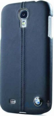 Чехол BMW Leather Hard Case for Samsung Galaxy S4 Navy (BMHCS4LN)