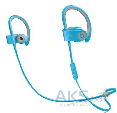 Наушники (гарнитура) Beats PowerBEATS 2 Wireless Sport Blue (MKPQ2ZM/A)