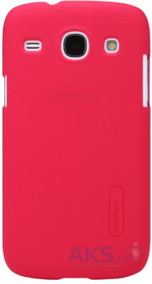 Чехол Nillkin Super Frosted Shield Samsung i8262 Galaxy Core Red