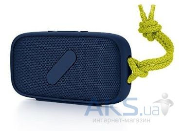 Колонки акустические Nude Audio Portable Bluetooth Speaker Super M Navy/Lime (PS039NLG)