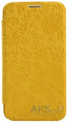 Чехол Devia Queen for Samsung G900 Galaxy S5 Yellow